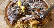 Herrlicher Apfel-Mandel-Rosinen-Auflauf