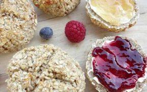 Haferflocken-Brötchen - ideal zum Frühstück