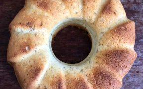 Kokos-Holunder-Kuchen